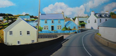 """Painting titled """"Driving Through Kin…"""" by Emma Cownie, Original Art, Oil"""