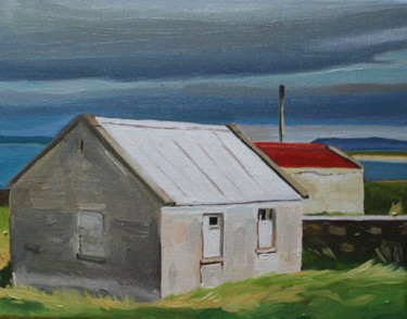 """Painting titled """"NEAR MAGHERAROARTY…"""" by Emma Cownie, Original Art, Oil"""