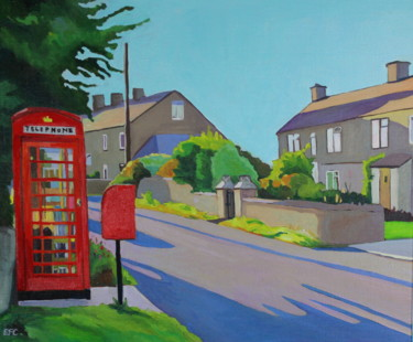 """Painting titled """"This is England"""" by Emma Cownie, Original Art, Oil"""