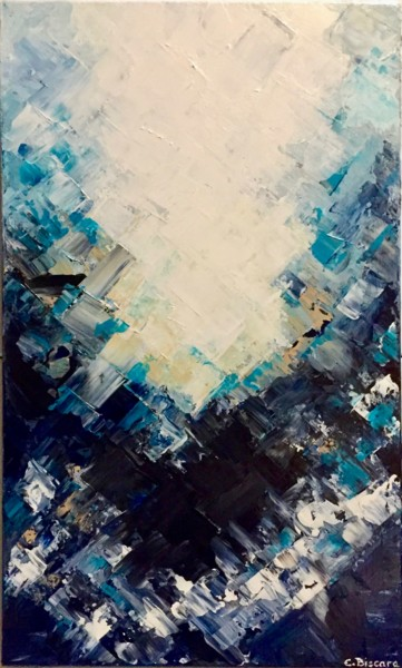 Painting, acrylic, abstract, artwork by Emmanuelle Biscara