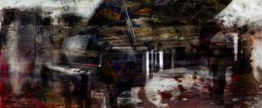 50x100x1 cm ©2019 by epidermic session