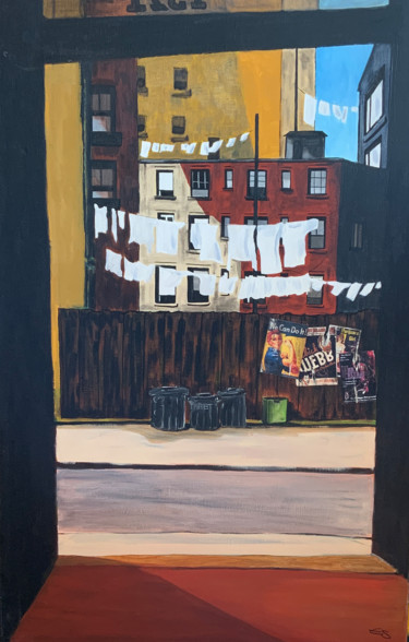 """Painting titled """"Nyc 317"""" by Eric Stephan, Original Art, Acrylic"""