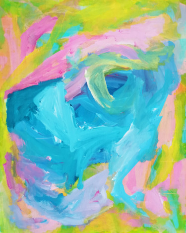 """Painting titled """"Depth"""" by Evelyn La Starza, Original Art, Acrylic"""
