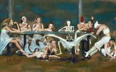 """Photography titled """"The Feast"""" by Evfrosina, Original Art, Digital Photography"""