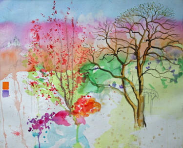 """Painting titled """"Watercolour Sketch…"""" by Fraser Maciver (1960 - 2019), Original Art, Pencil"""