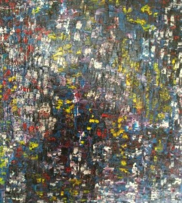 """Painting titled """"ECLATS"""" by Francis-Andre Fasolart, Original Art,"""