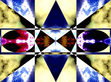 """Photography titled """"Crystals"""" by Maëva Faure, Original Art, Photo Montage"""