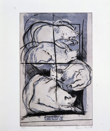 27.6x19.7 in ©1990 by François Crinel