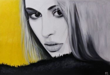"""Painting titled """"Yellow and More"""" by Filip Art, Original Art, Oil"""