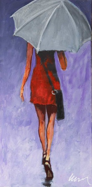 Painting, acrylic, figurative, artwork by Filip Petrovic