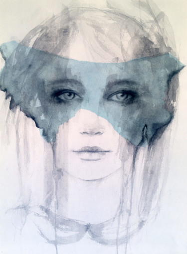 Painting, watercolor, impressionism, artwork by Fiona Maclean