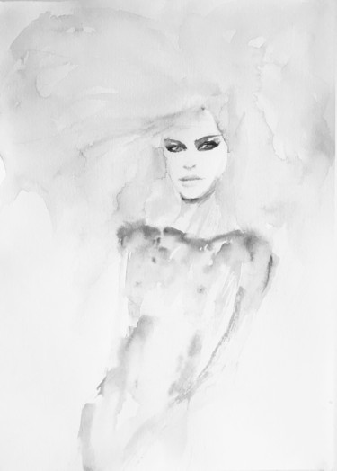 Painting, watercolor, figurative, artwork by Fiona Maclean