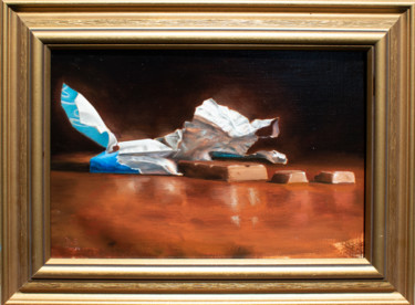 """Painting titled """"Chocolate"""" by Daniel Shor, Original Art, Oil"""