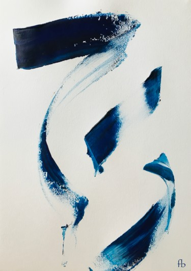 Abstract Painting, acrylic, minimalism, artwork by Florence Barre