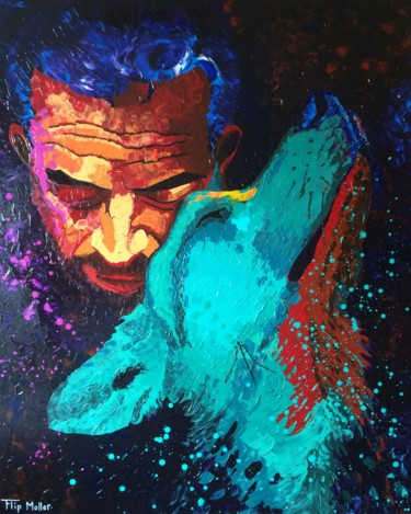"""Painting titled """"Loyalty/regret"""" by Flip Moller, Original Art, Acrylic"""