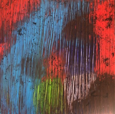 Painting, acrylic, abstract, artwork by Flojo