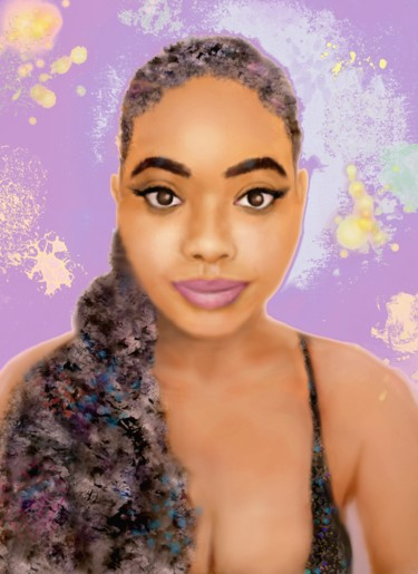 """Digital Arts titled """"Cailey"""" by Fm Looby, Original Art, Digital Painting"""