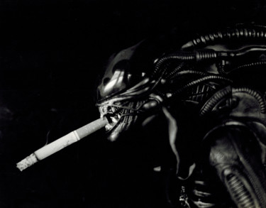"""Photography titled """"Alien #1"""" by Jim Williams, Original Art, Analog photography"""