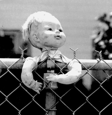 """Photography titled """"Doll head 1 - Early…"""" by Jim Williams, Original Art, Analog photography"""