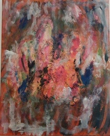 Painting, abstract, artwork by Louvet Franck