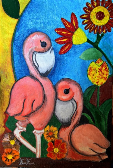 Painting, acrylic, figurative, artwork by Franco Fumo