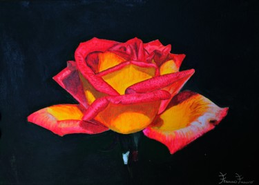 Painting, acrylic, artwork by Franco Fumo