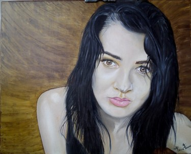 Painting, oil, artwork by Franco Fumo