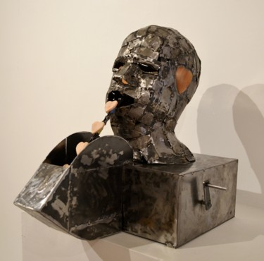 Sculpture, mixed media, conceptual art, artwork by Fraser Paterson