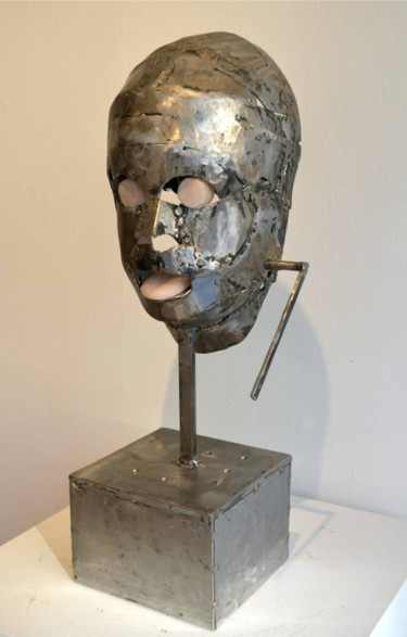 Sculpture, stone, conceptual art, artwork by Fraser Paterson