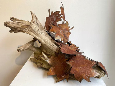 Sculpture, wood, conceptual art, artwork by Fraser Paterson
