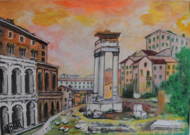 """Painting titled """"TEATRO. MARCELLO. R…"""" by Vneri, Original Art, Acrylic"""