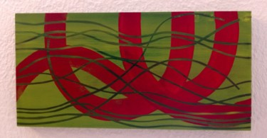 """Painting titled """"Divers chemins ..."""" by Prussi, Original Art, Acrylic"""