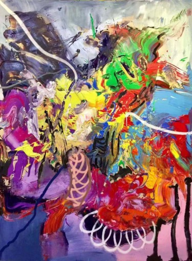"""Painting titled """"Original Abstract P…"""" by Gao, Original Art, Oil"""