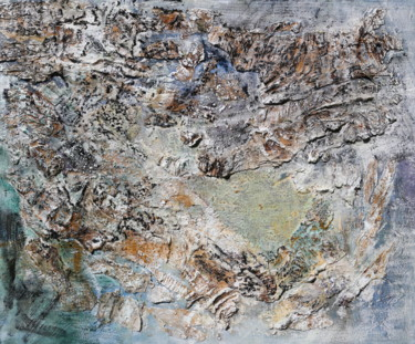 """Painting titled """"Paperbark I"""" by Gayle Sachs, Original Art, Oil"""