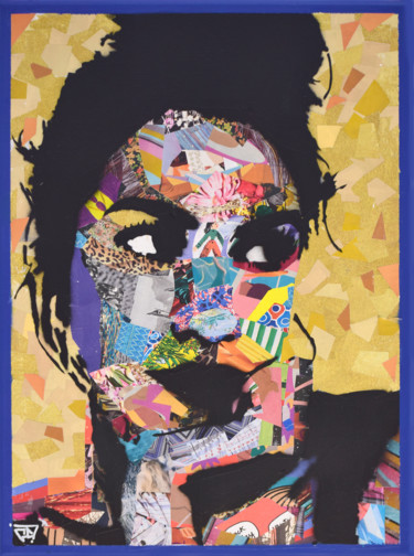 Collages Portrait, collages, pop art, œuvre d'art par G. Carta