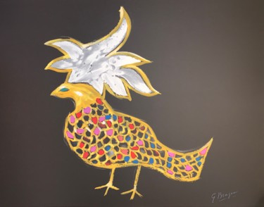 """Printmaking titled """"Phoenix"""" by Georges Braque, Original Art, Lithography"""