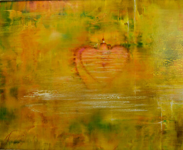 """Painting titled """"Emotion"""" by Yuri Kozvonin (Georgy), Original Art, Oil Mounted on Stretcher frame"""