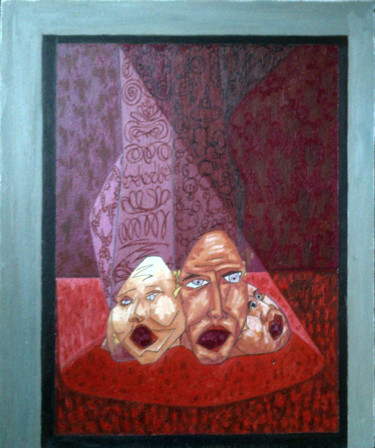 """Painting titled """"Neo Martyrs - The V…"""" by Gerald Shepherd, Original Art, Oil"""