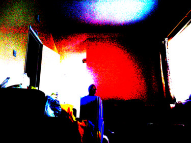 """Photography titled """"The Wait"""" by Gerald Shepherd, Original Art, Manipulated Photography"""