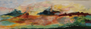 Abstract Painting, oil, abstract, artwork by Gérard Fayet