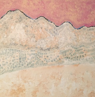 """Painting titled """"Winter landscape"""" by Giart, Original Art, Acrylic"""