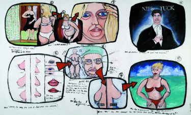 """Painting titled """"Storyboard Series:…"""" by Gideon Nel, Original Art, Acrylic"""