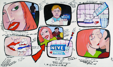 """Painting titled """"Storyboards: Neve T…"""" by Gideon Nel, Original Art, Acrylic"""