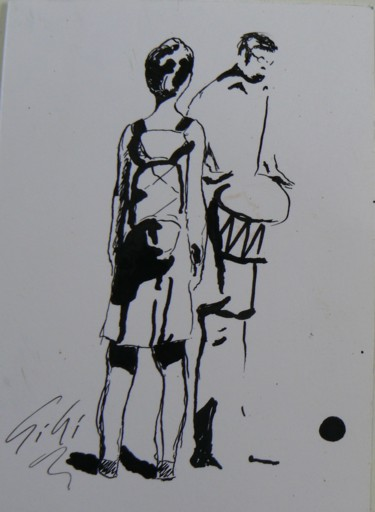 10x14 cm ©2001 by Ginette Richard