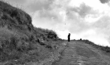 """Photography titled """"The Path Leads nowh…"""" by Goutam Chakraborty, Original Art, Digital Photography"""