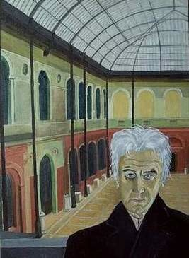 """Painting titled """"Self-Portrait at th…"""" by Reginald Gray, Original Art,"""