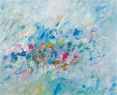 Color Painting, acrylic, impressionism, artwork by Gregor Stäuble