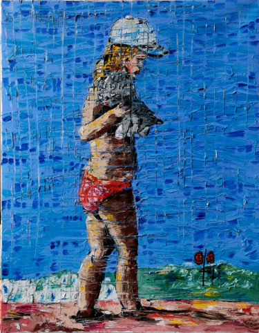 """Painting titled """"Two kittens"""" by Gugo, Original Art, Oil"""