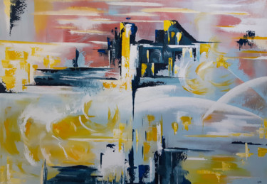 Color Painting, acrylic, abstract, artwork by Helena Monniello