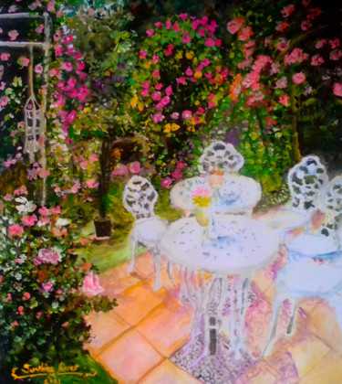"""Painting titled """"Too much Heaven"""" by Sunshine Amos (Happipaints), Original Art, Acrylic"""